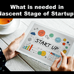 What is needed in Nascent Stage of Startup?